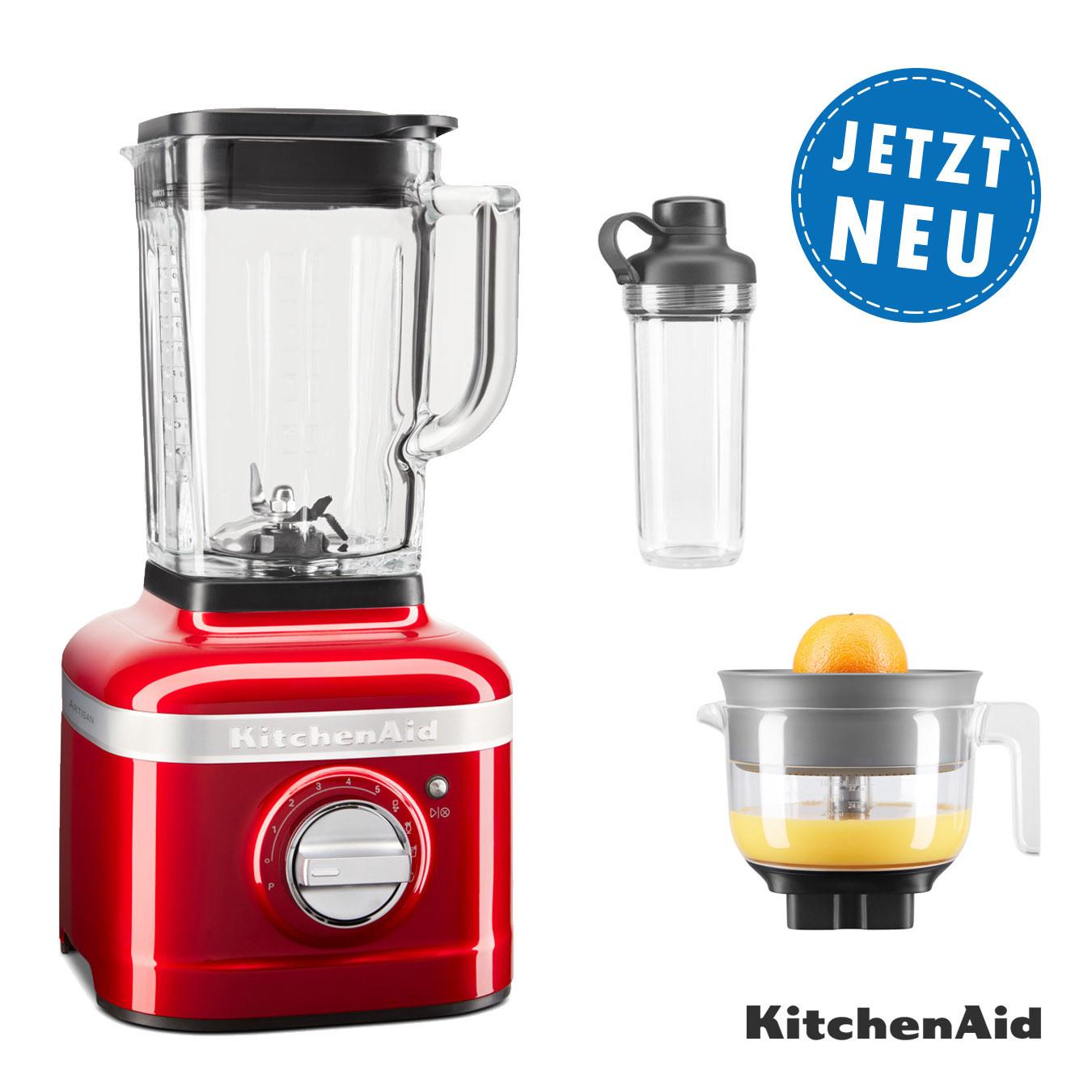 KitchenAid ARTISAN K400 Standmixer 5KSB4026EER + 1x To-Go Behälter