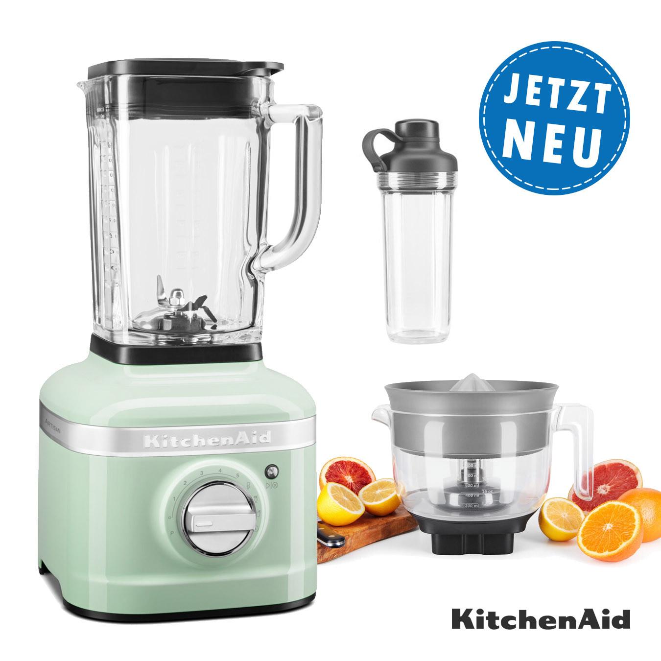 KitchenAid ARTISAN K400 Standmixer 5KSB4026EPT mit Zitrusaufsatz