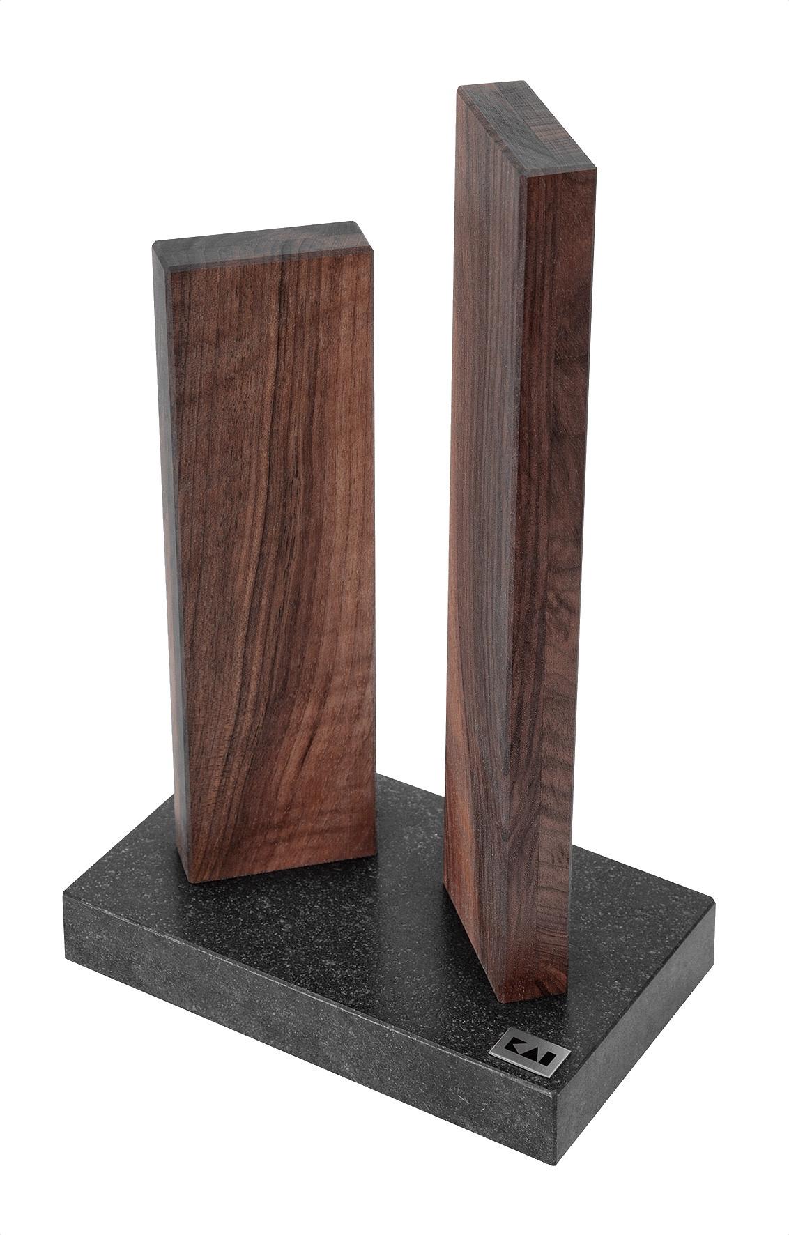 KAI Messerbock Stonehenge Small Walnuss/Granit