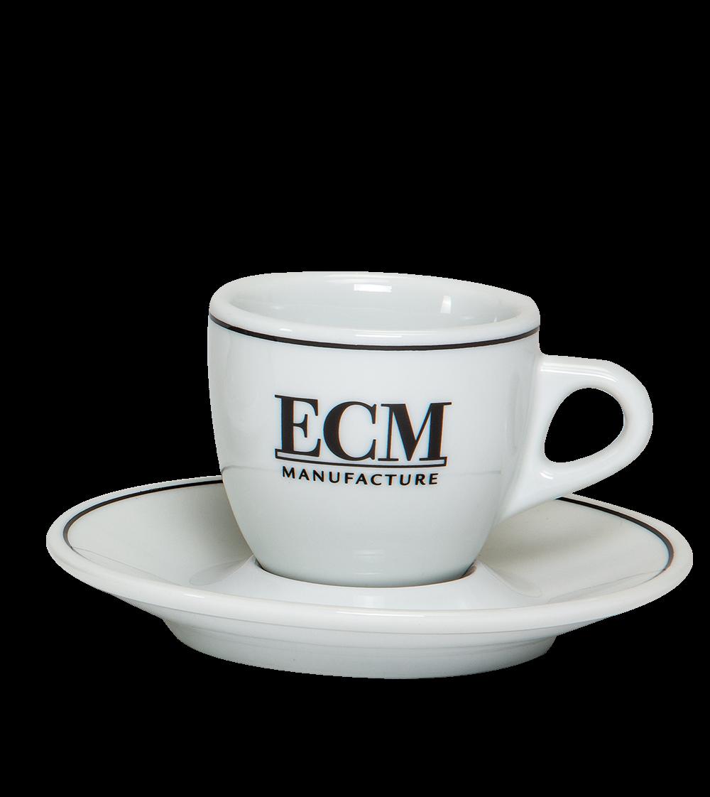 ECM Espressotasse mit Untertasse im Set