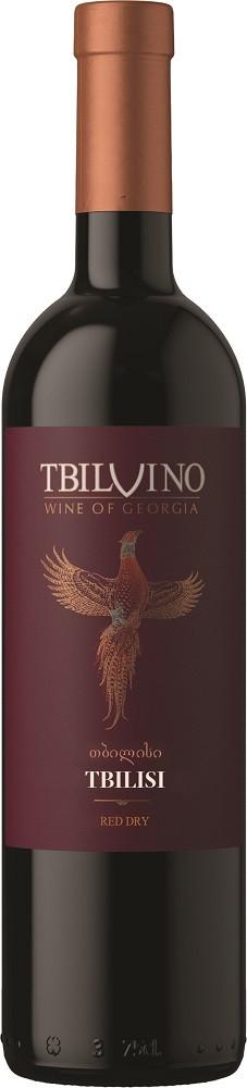 Tbilvino Tbilisi, trockener Rotwein 0,75l Georgien