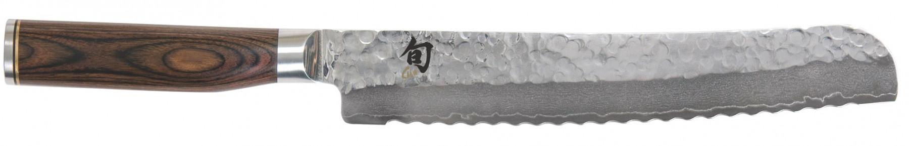 KAI Shun Premier TM Brotmesser mit Wellenschliff