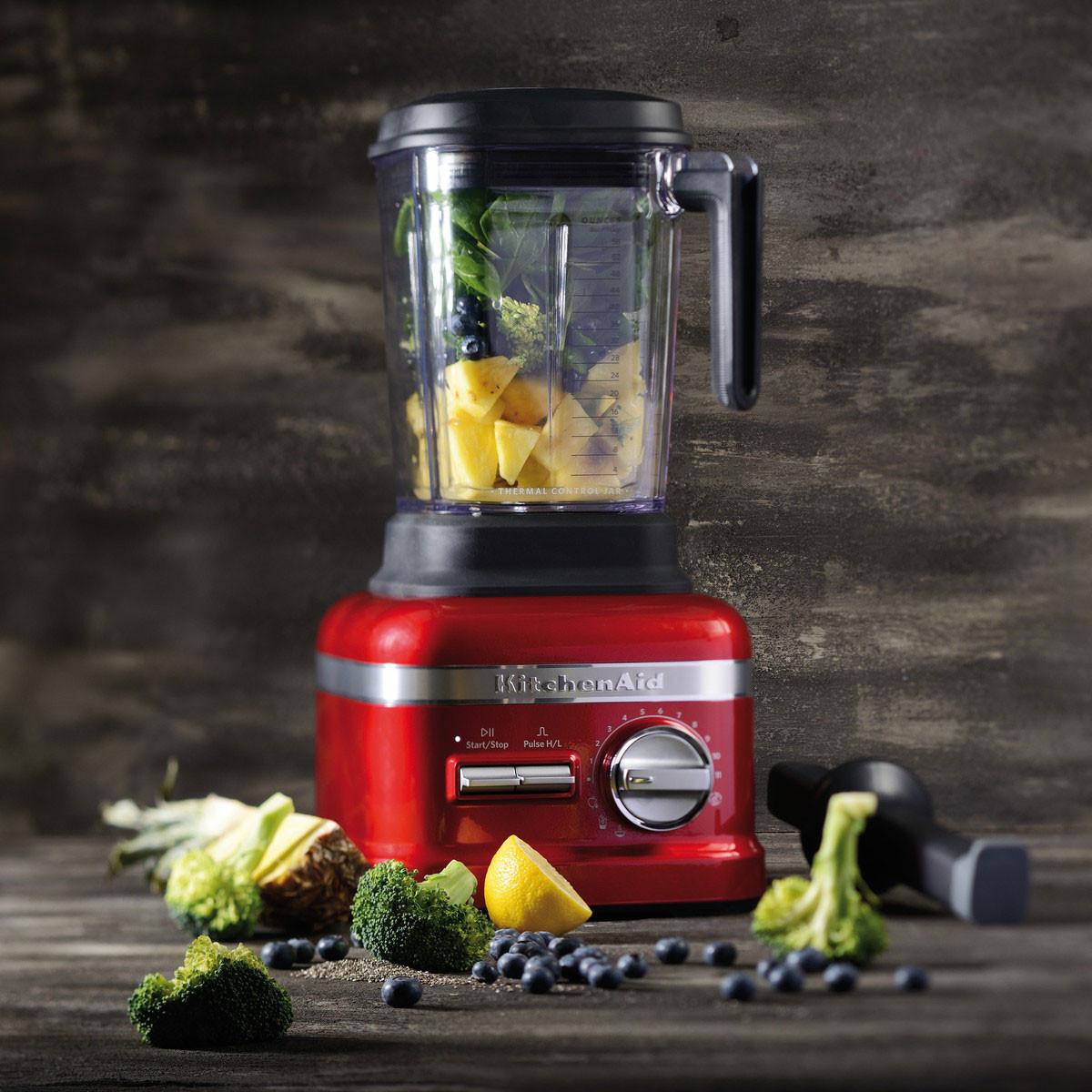 KitchenAid ARTISAN Power Plus Blender/Standmixer liebesapfelrot
