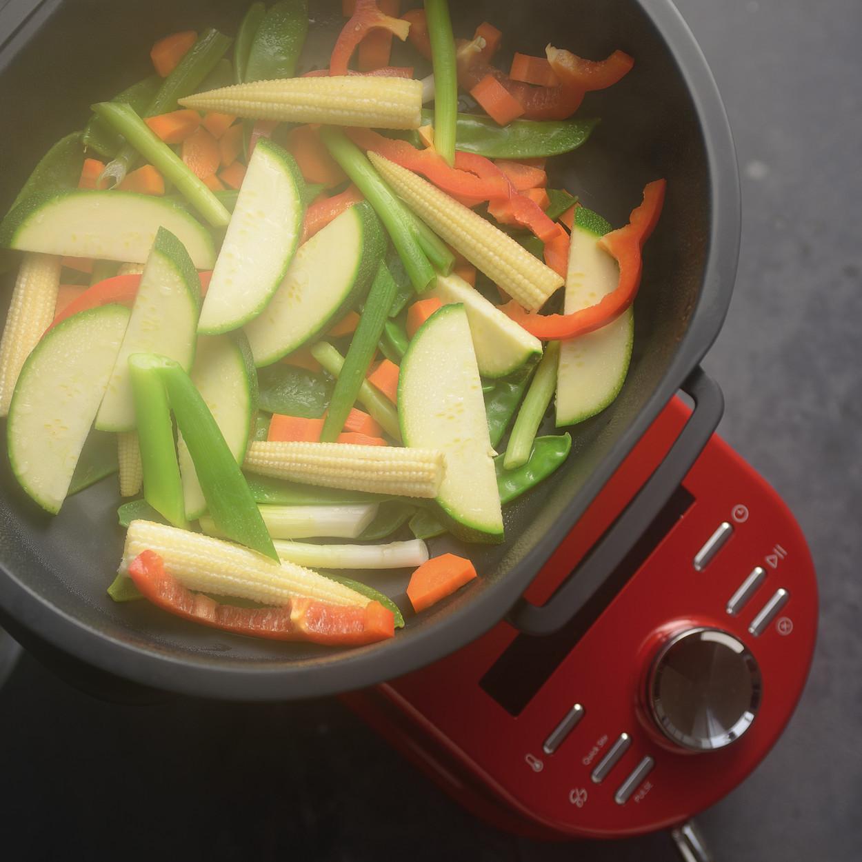 KitchenAid Artisan Cook Processor Gusseisen Schwarz Gemüse dünsten