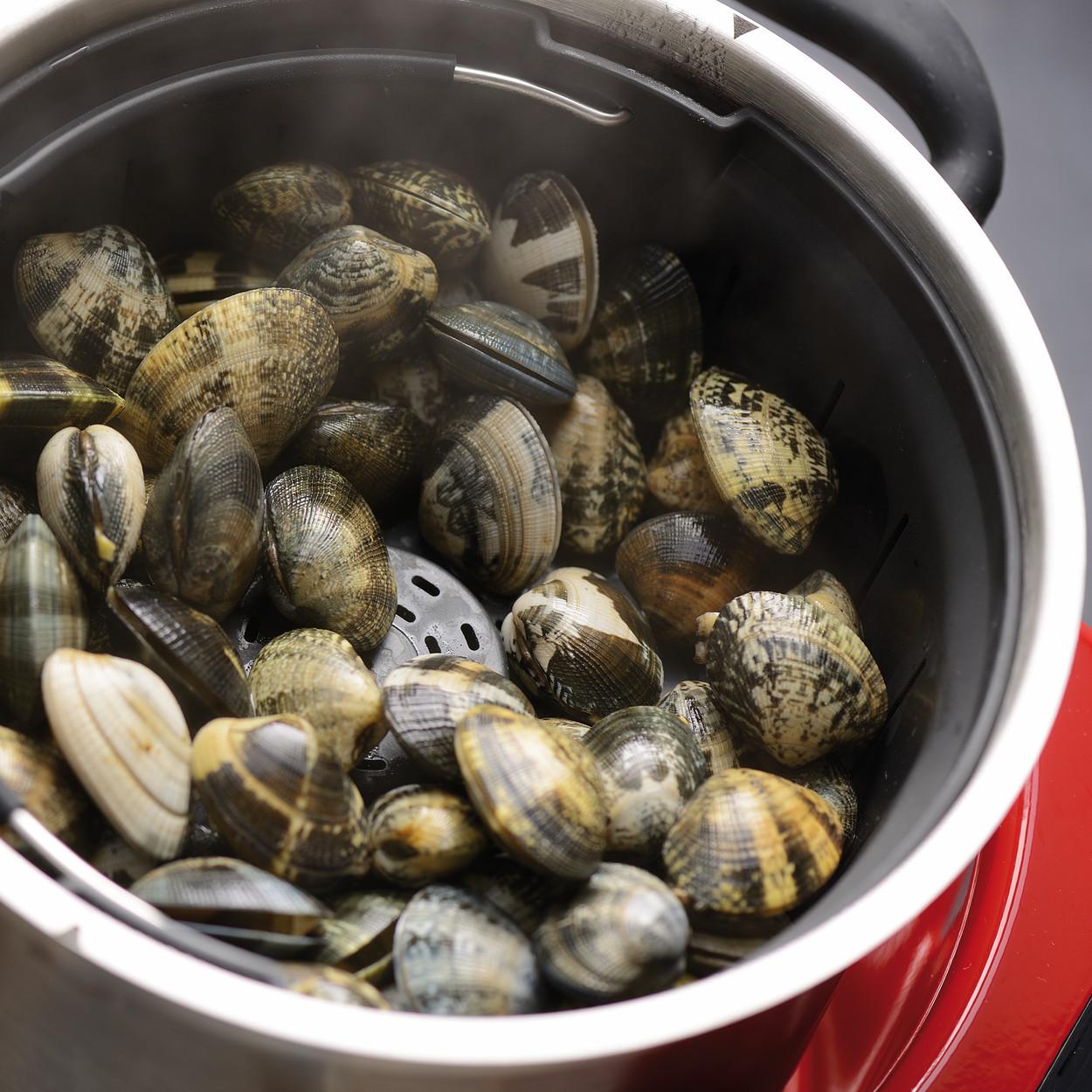 KitchenAid Artisan Cook Processor Gusseisen Schwarz Muscheln kochen