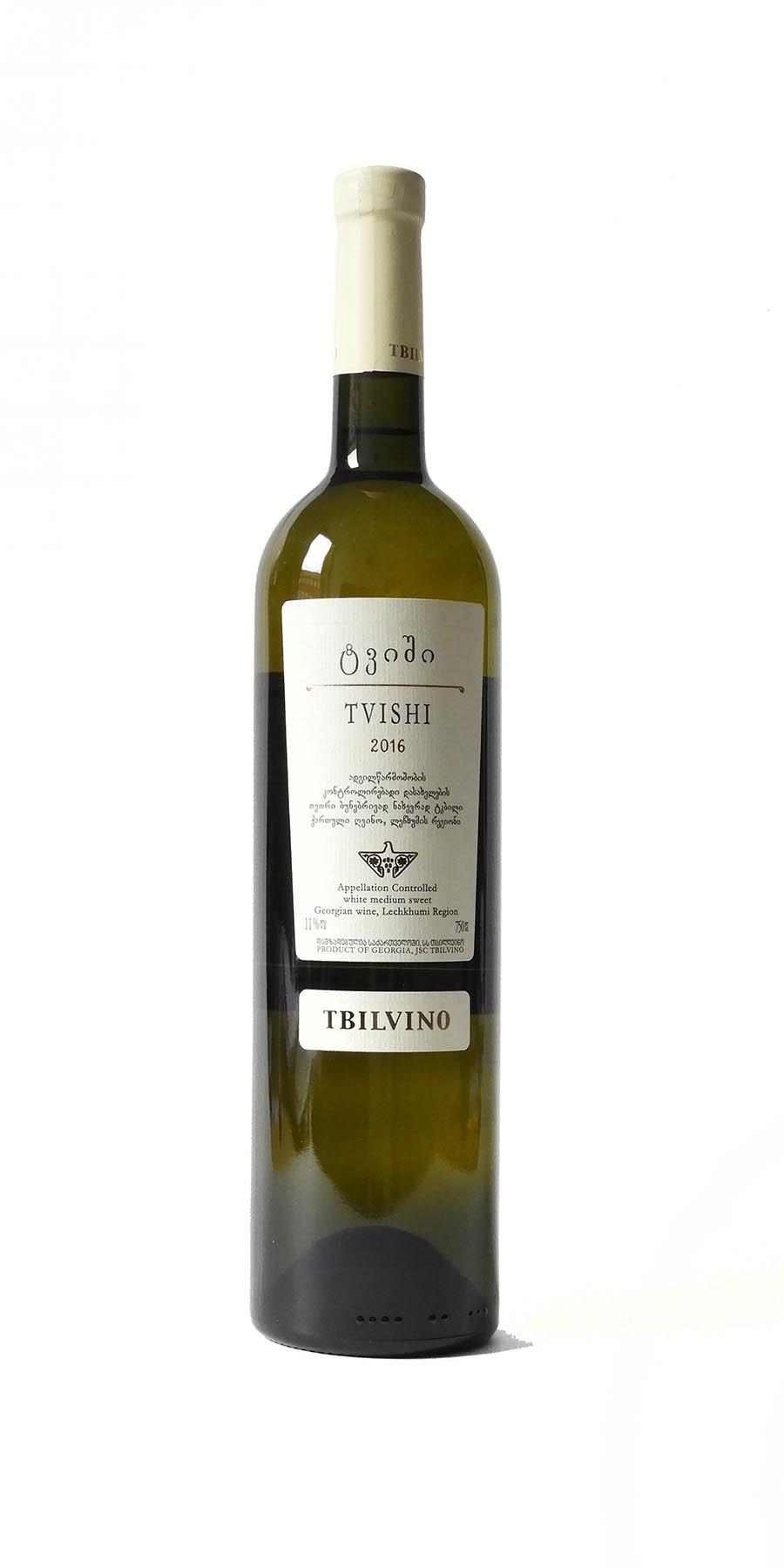 Tbilvino Tvishi, lieblicher Weißwein 0,75l Georgien