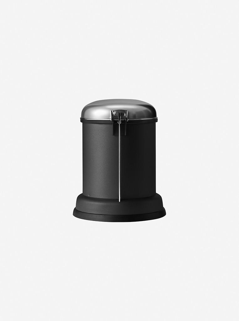 vipp Treteimer 8 Liter black VIPP14, 01404, 5705953140401