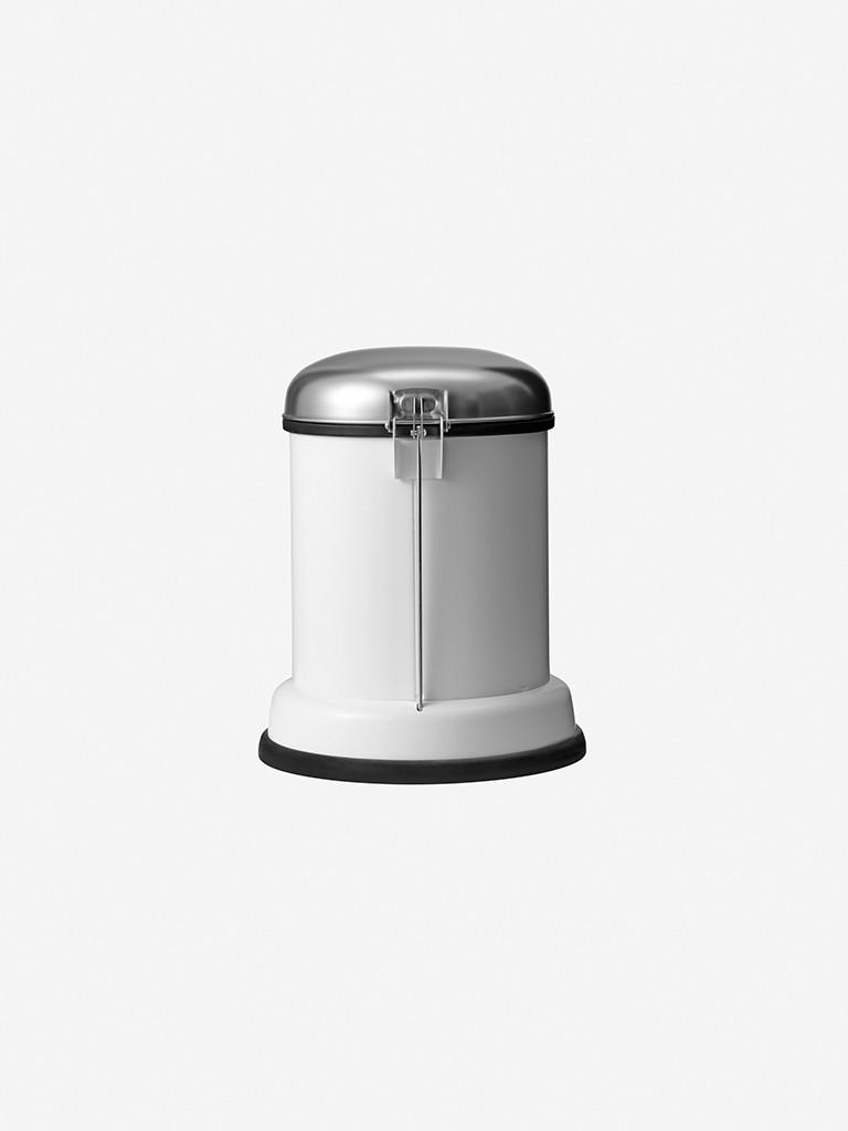 vipp Treteimer 8 Liter white VIPP14, 01403, 5705953140302