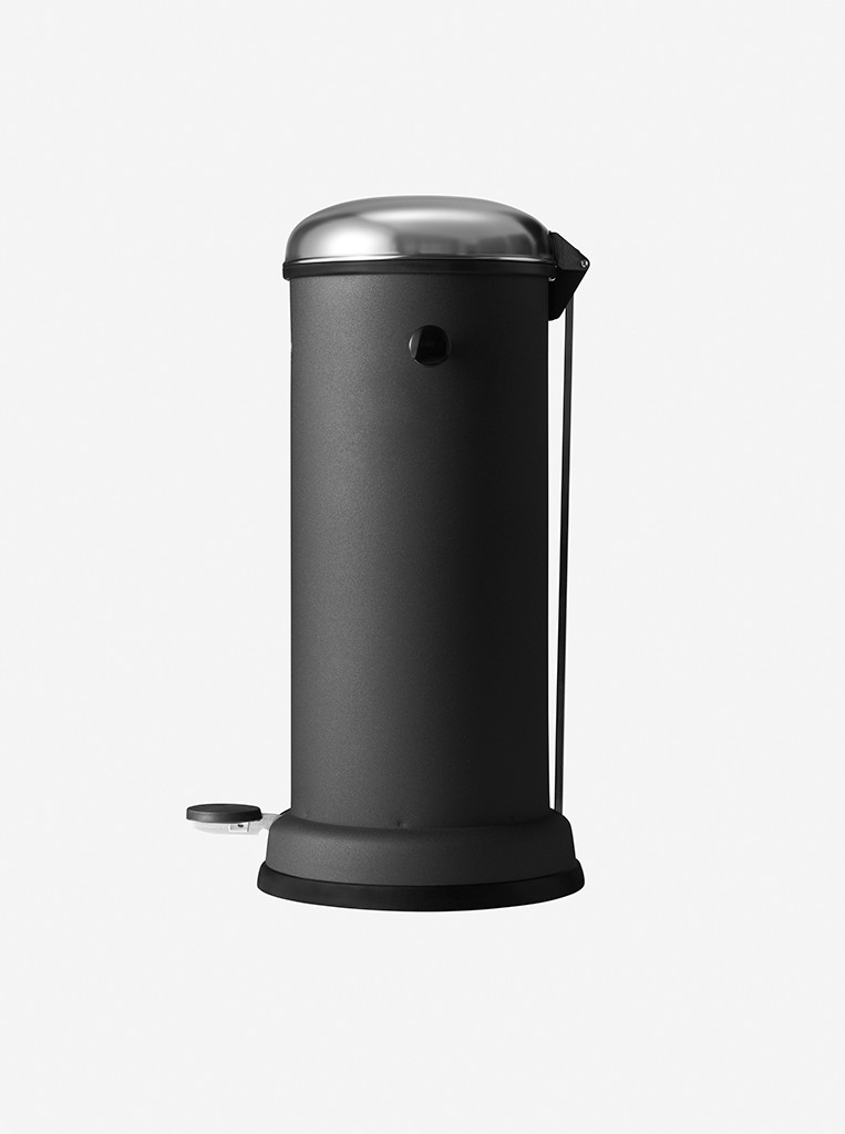 vipp Treteimer 18 Liter black VIPP16, 01604, 5705953160409