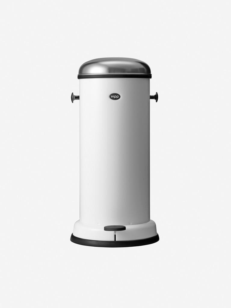 vipp Treteimer 18 Liter white VIPP16, 01603, 5705953160300