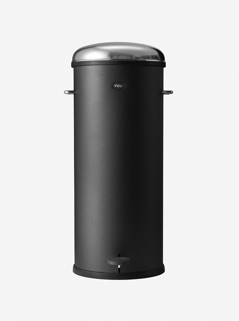 vipp Treteimer 30 Liter black VIPP17, 01704, 5705953004567