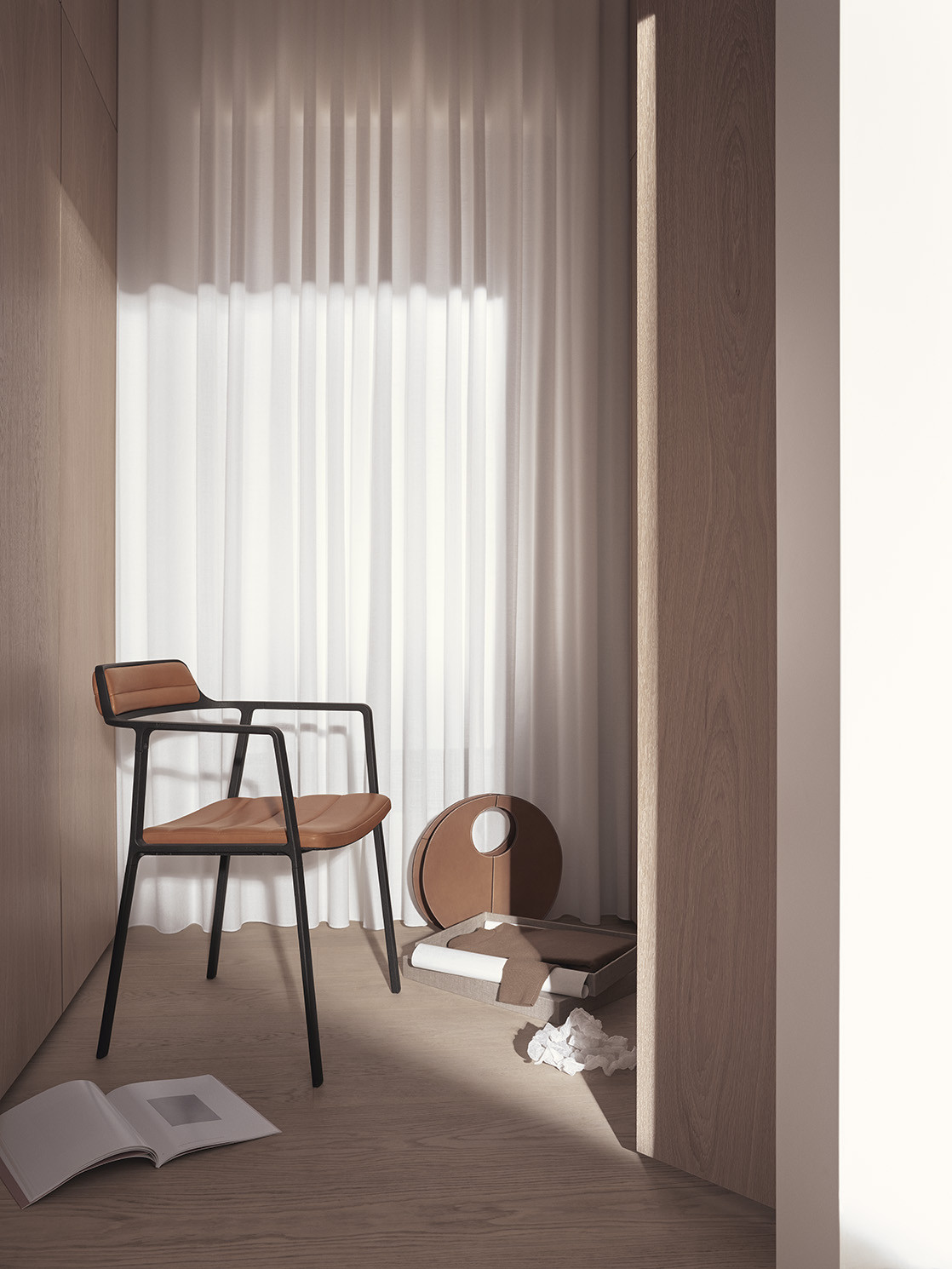 vipp Chair Leather VIPP451, 45170, 5705953167026