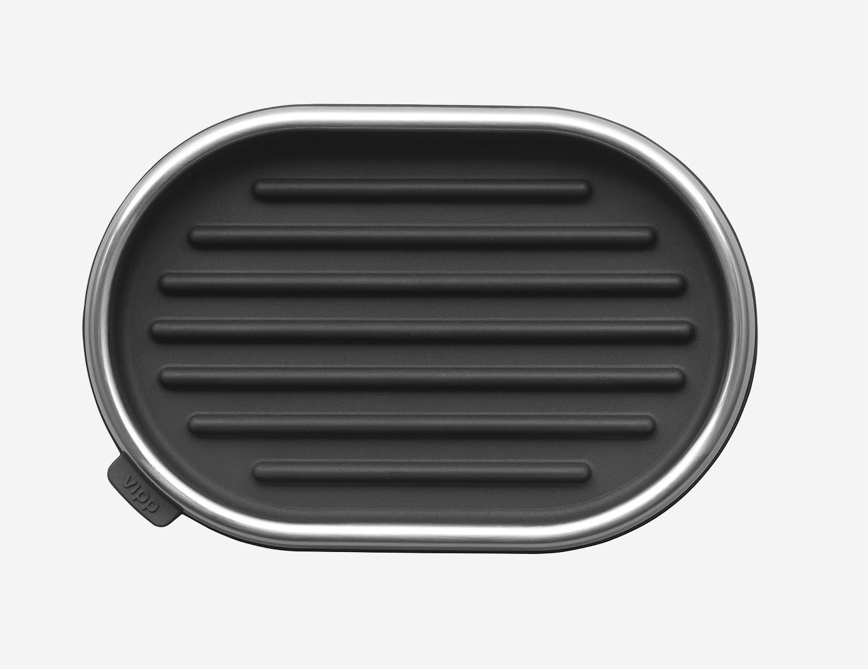 VIPP Soap Dish black VIPP5, 00504, 5705953001795