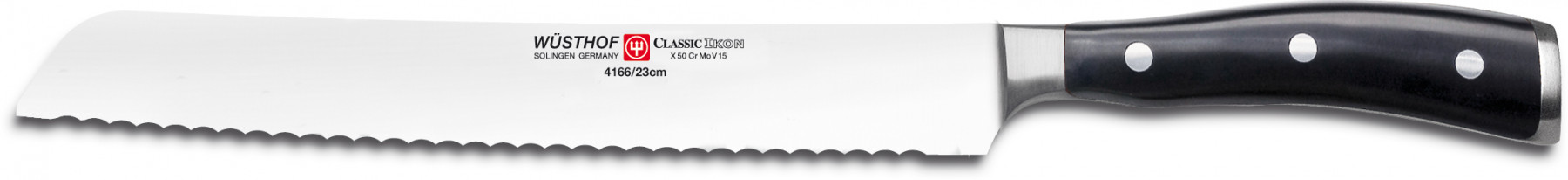 Wüsthof Dreizack Classic Ikon Brotmesser 23cm