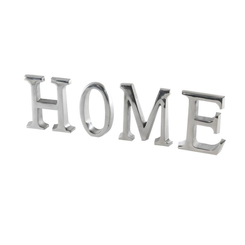 Casablanca Schriftzug Home Alu poliert, H. 16 cm