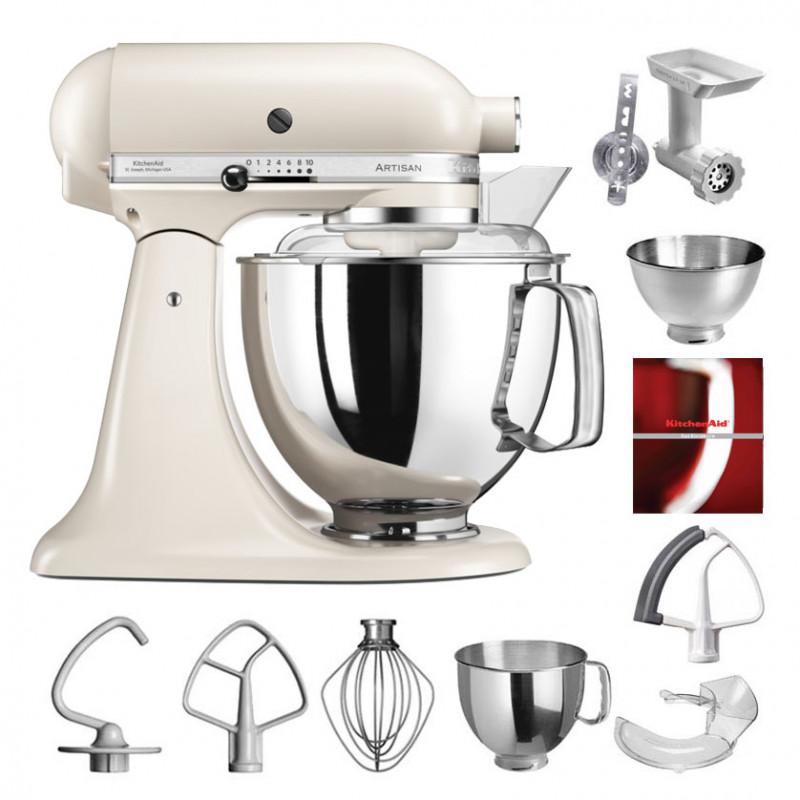 KitchenAid Artisan Küchenmaschine 175PS baiser 4,8 Liter