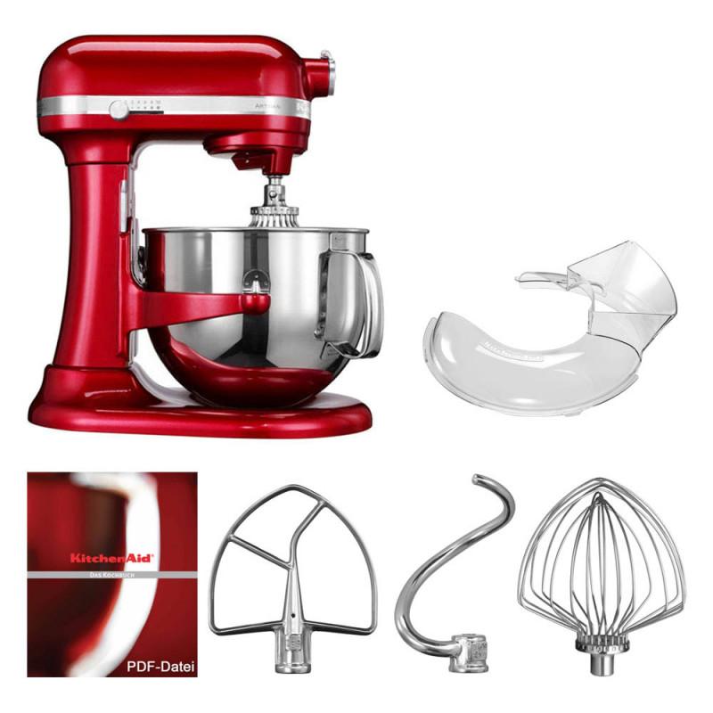 KitchenAid Artisan Küchenmaschine 6,9l Liebesapfelrot