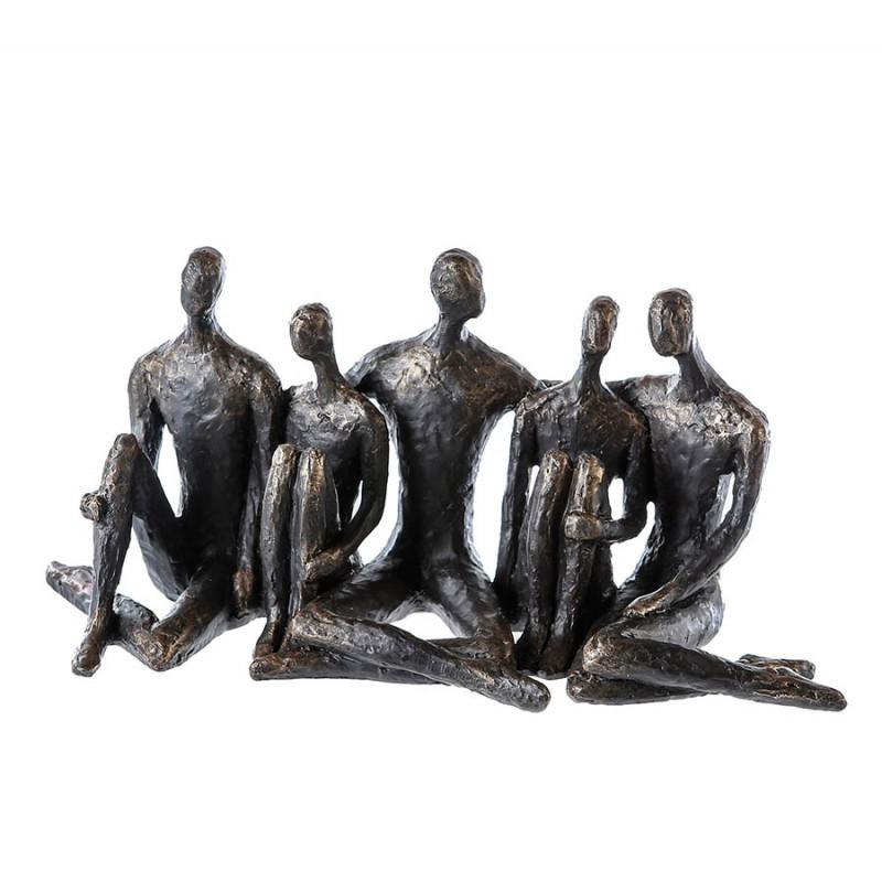"""Casablanca Skulptur """"Convention"""" Poly mit Motivspruch"""