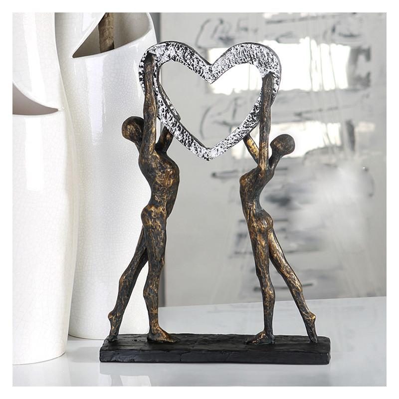 casablanca skulptur victory liebende mit herz im suhl. Black Bedroom Furniture Sets. Home Design Ideas