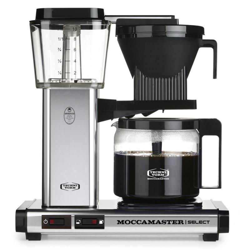 Moccamaster Kaffeemaschine KBG Select Edelstahl poliert