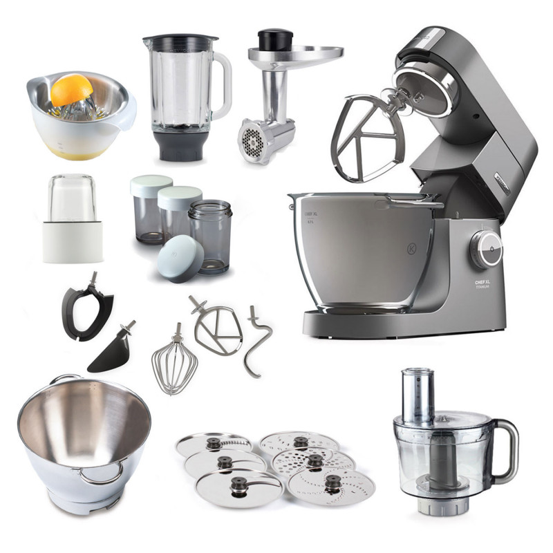 Kenwood Cooking Chef XL Titanium - Megapaket