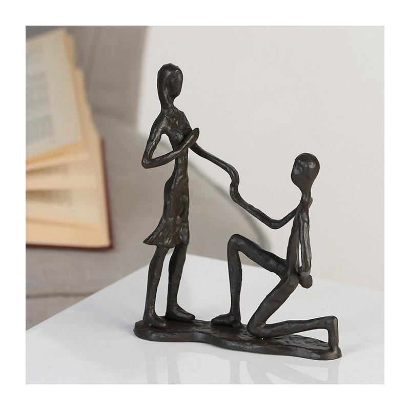 "Casablanca Skulptur ""Marry Me"" - Heiratsantrag/Liebesgeständnis"