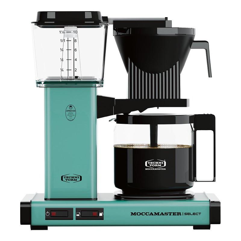 Moccamaster Kaffeemaschine KBG Select Türkis