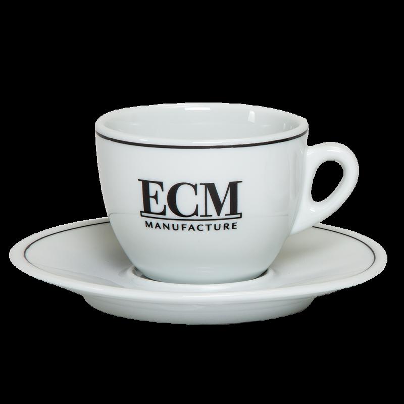 ECM Cappuccinotasse mit Untertasse im Set