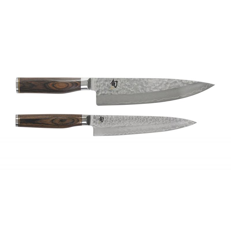 KAI Messerset Shun Premier TM I 2tlg. mit Koch- und Allzweckmesser