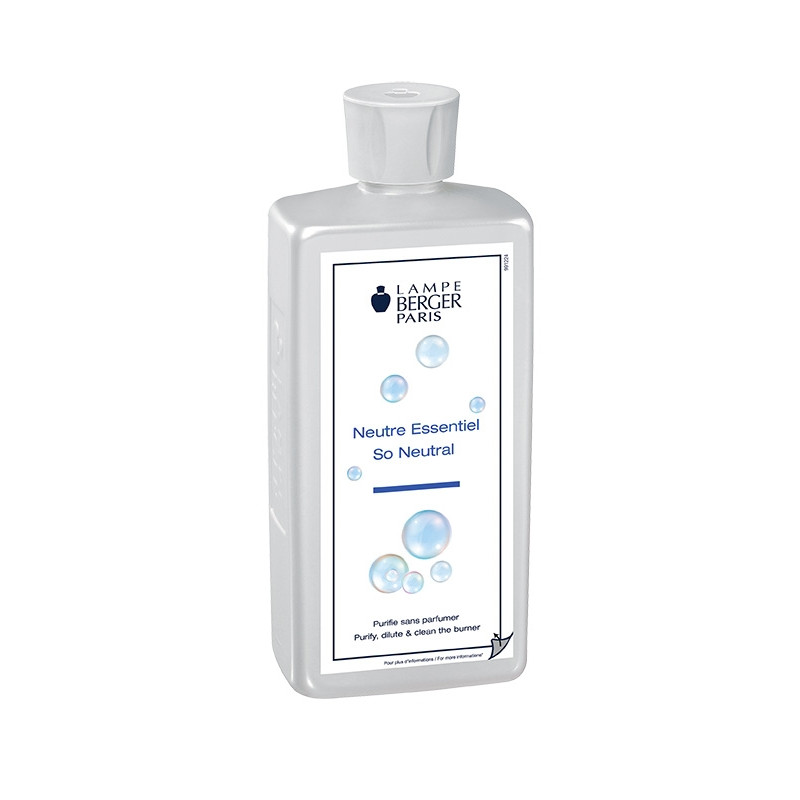 Lampe Berger Parfum 500ml Neutre Essentiel | So Neutral