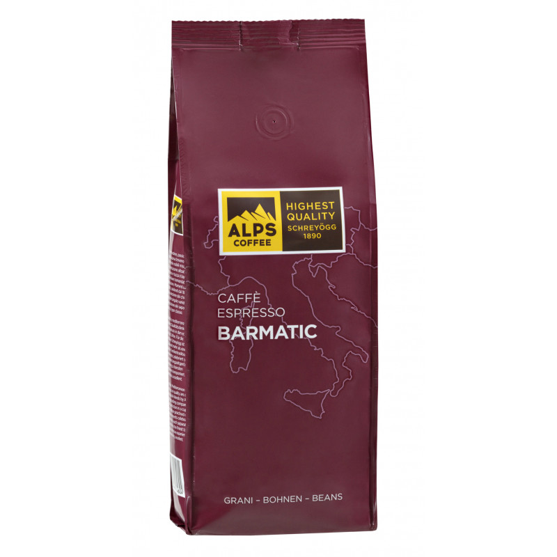 Schreyögg Alps Coffee Caffe Barmatic 500g, 4007460014604