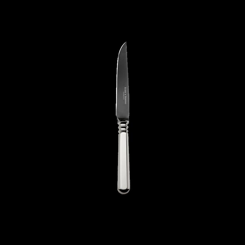 Robbe & Berking Alt-Spaten Steakmesser 150g Massiv-Versilberung Frozen Black, 01902184, 4044395241705