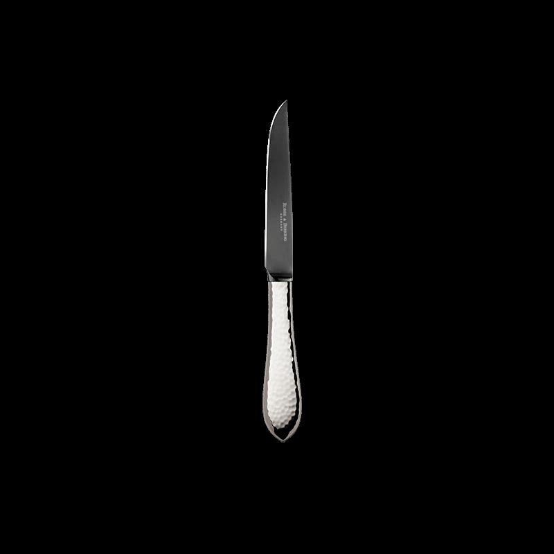 Robbe & Berking Martelé Steakmesser 150g Massiv-Versilberung Frozen Black, 06302184, 4044395241774