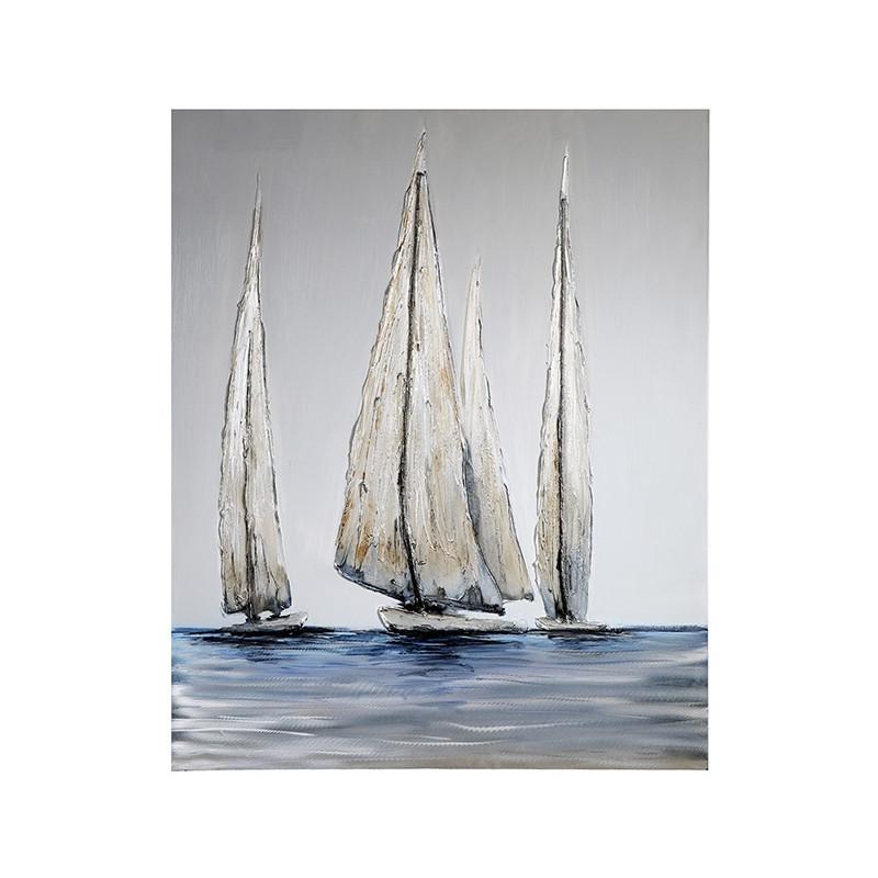 "Casablanca Design Ölbild ""Sailing"" Leinwand 80 x 100 cm"