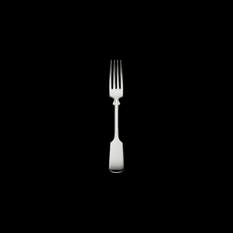 Robbe & Berking Alt-Spaten Steak-/Menügabel 150g Massiv-Versilberung, 01902005, 4044395119882