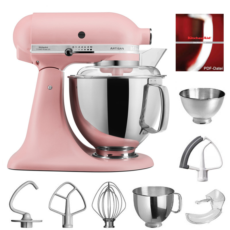 KitchenAid Artisan Küchenmaschine 175PS altrosa 4,8 Liter