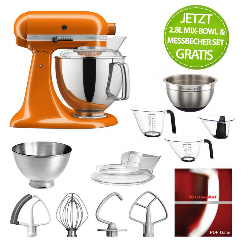 KitchenAid Artisan Küchenmaschine 175PS Honey 4,8 Liter