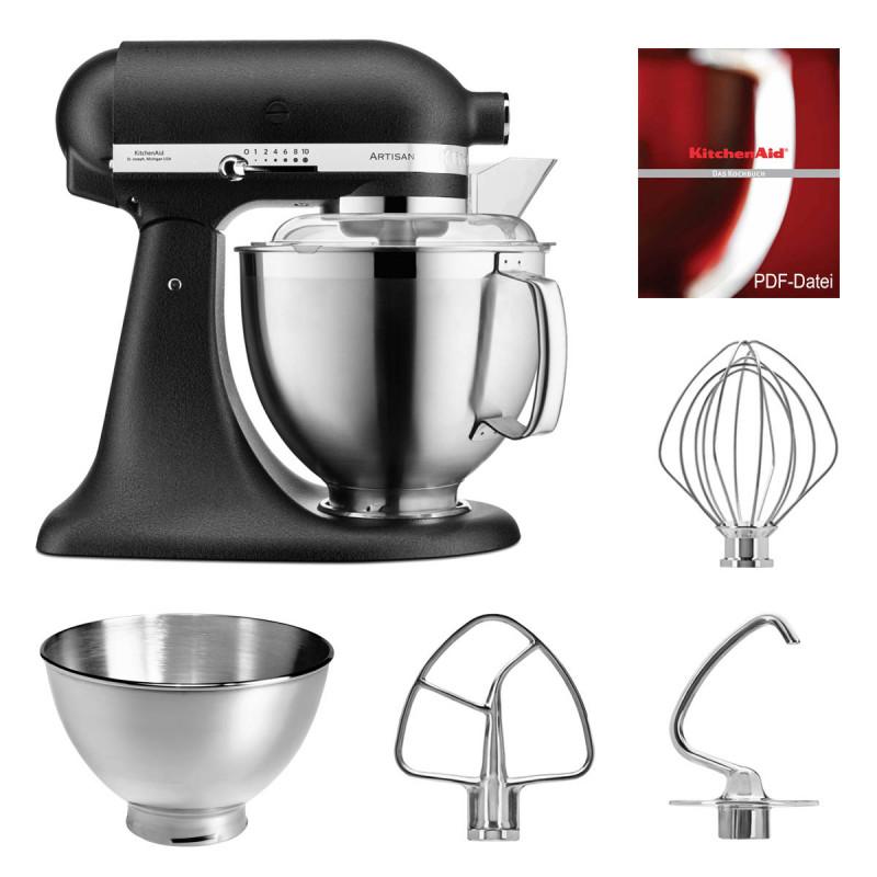 KitchenAid Küchenmaschine 5KSM185PS gusseisen schwarz
