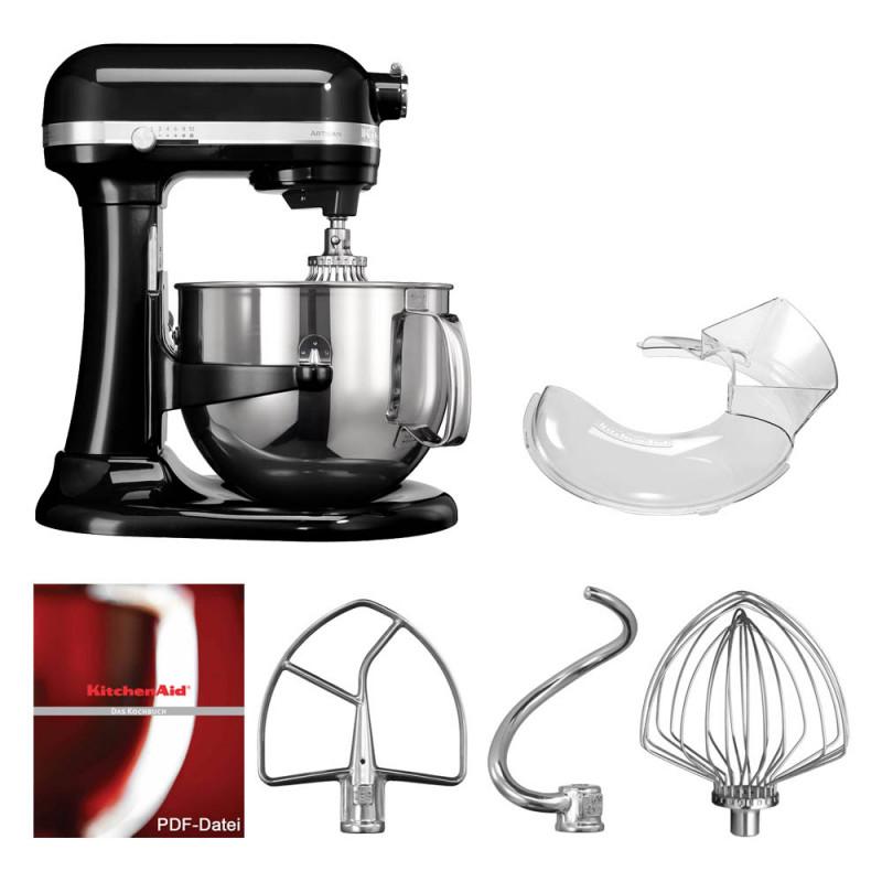 KitchenAid Artisan Küchenmaschine 6,9l Onyxschwarz