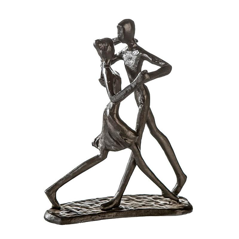 "Casablanca Design Skulptur ""Dancing"" Eisen, brüniert"