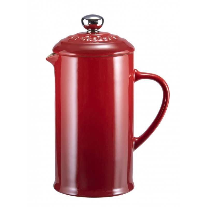 Le Creuset Kaffee-Bereiter-kirschrot