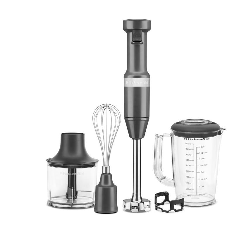 KitchenAid Stabmixer-Set 5KHBV83EDG Charcoal Grey