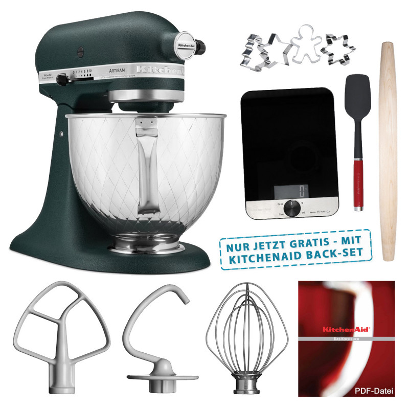 KitchenAid Artisan Küchenmaschine Palmenstrand 5KSM156QPEPP Edition 4,8l