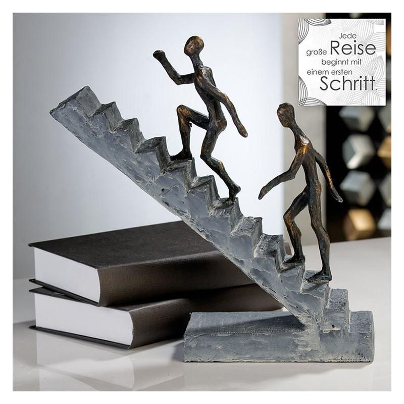 "Casablanca Skulptur ""Staircase"" - Wagen Sie den Neuanfang"