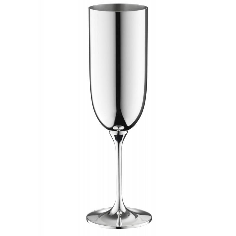 Robbe & Berking Dante Champagnerkelch 90g versilbert, 06201598, 4044395246069