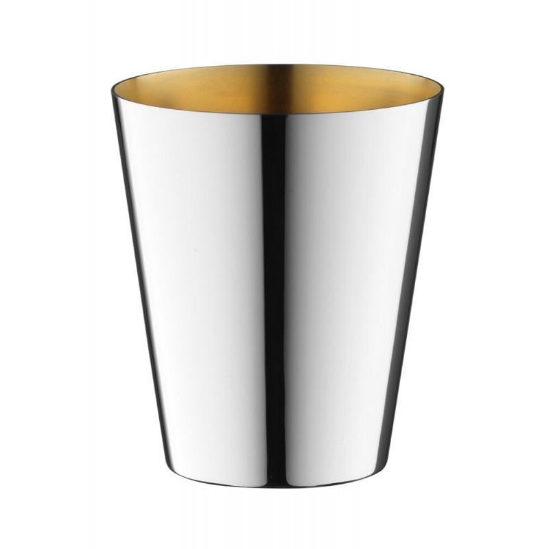 Robbe & Berking Dante Gin,- Wasser- und Weinbecher 90g versilbert, innen vergoldet, 06231583, 4044395246106