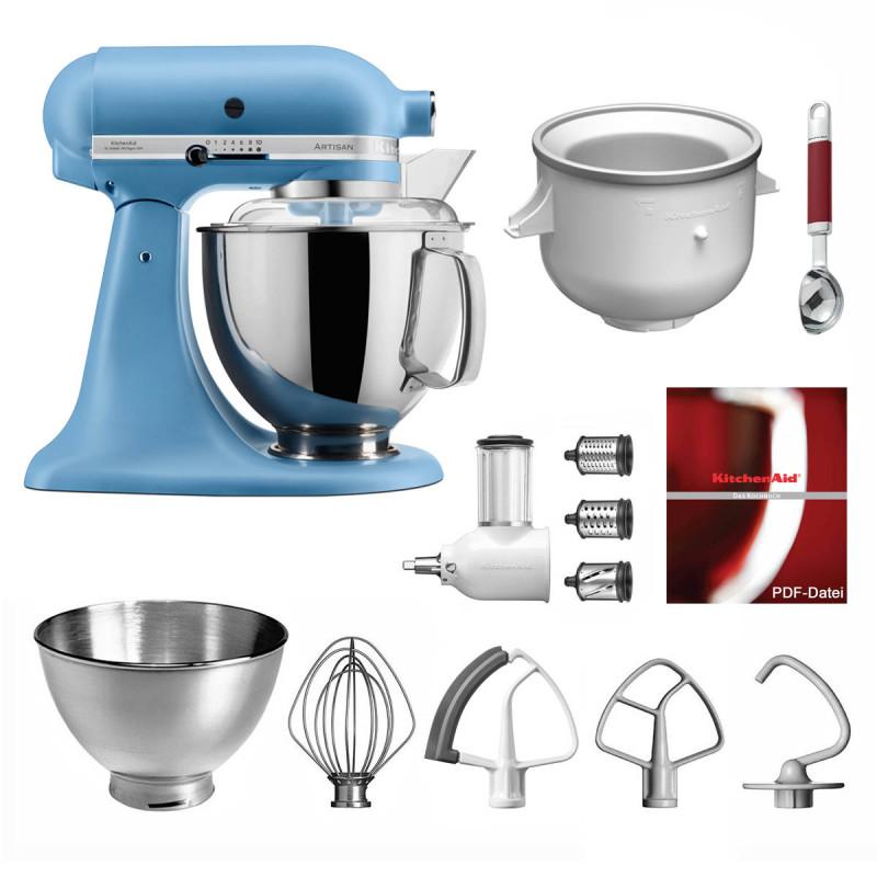 KitchenAid Küchenmaschine 5KSM175PS Eiszauber samtblau