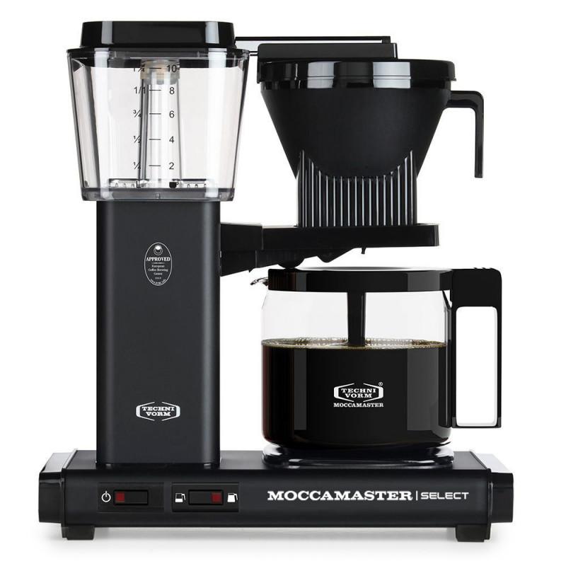 Moccamaster Kaffeemaschine Selct Mattes Schwarz