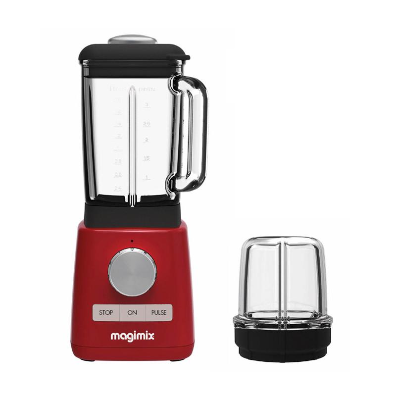 Magimix Blender rot mit Minibehälter