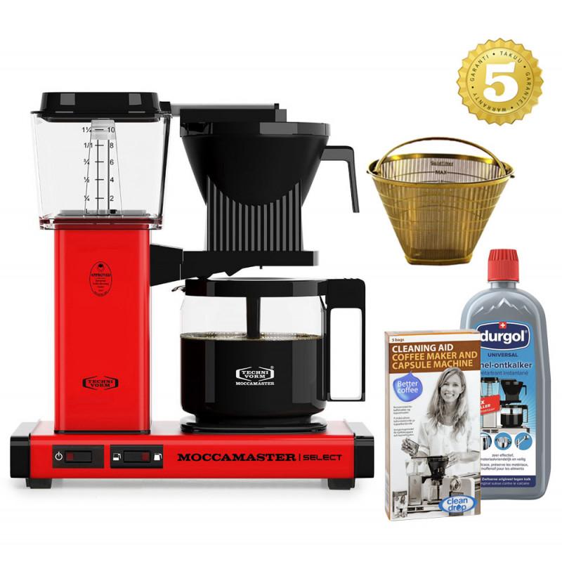 Moccamaster Kaffeemaschine KBG Select Rot